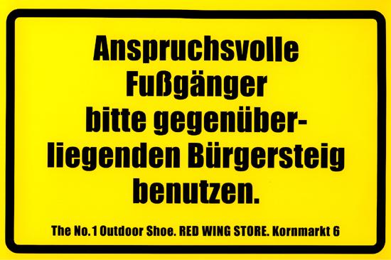 Schild Red Wing 3