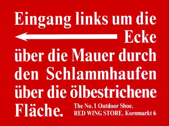 Schild Red Wing1
